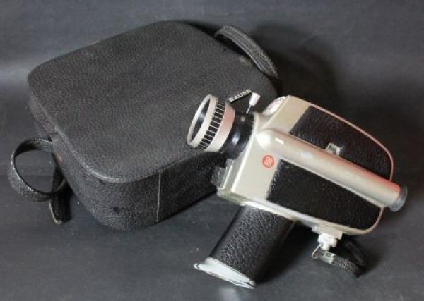 Bauer C3 Super 8 Filmkamera 1971 mit Tasche