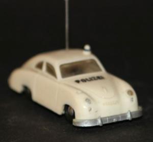 Siku Porsche 356 Autobahn-Polizei V 160 Plastikmodell 1961
