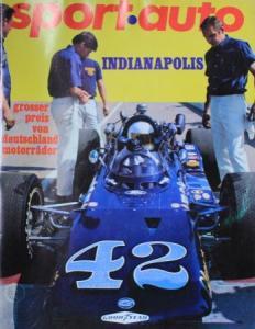 """""""Sport Auto"""" Motorsport-Zeitschrift 1969"""