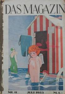 "Eysler ""Das Magazin"" Gesellschafts-Magazin 1925 gebunder Jahrgang"