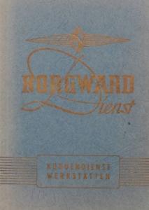 Borgward Kundendienst-Werstätten-Verzeichnis 1958
