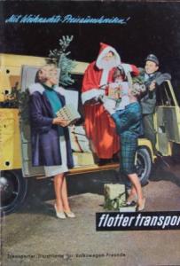"Volkswagen Magazin ""Flotter Transport"" 1960"