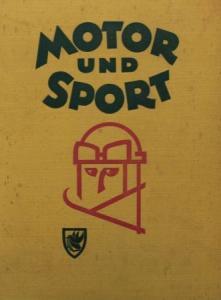 """""""Motor & Sport"""" Zeitschrift 1940 gebundener Halbjahrgang"""