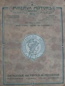 Minerva 20 HP 6 Zylinder 1932 Ersatzteilliste