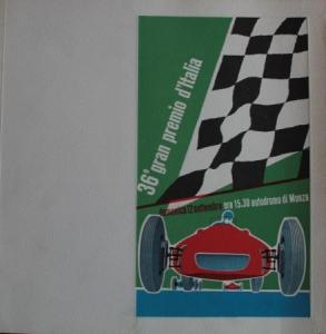 "Monza ""Grand Premio d'Italia"" September 1965 Rennprogramm"