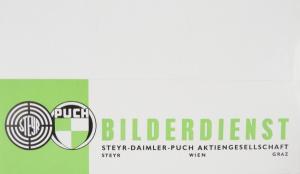 Steyr-Puch Fiat 500 Bilderdienst 1960 2 Automobilprospekte