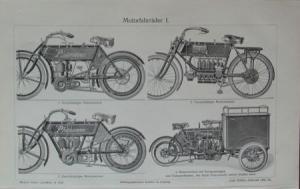 Phänomen Motorräder 1906 Motorradprospekt