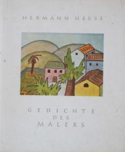 """Hesse """"Gedichte des Malers"""" Hesse-Gedichtband 1951 mit Widmung"""