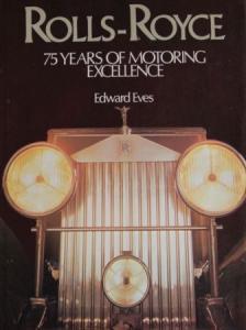 """Eves """"Rolls-Royce - 75 years of motoring"""" Rolls-Royce-Historie 1979"""