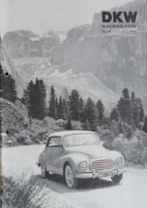 """""""DKW-Nachrichten"""" Firmen-Magazin 1956"""
