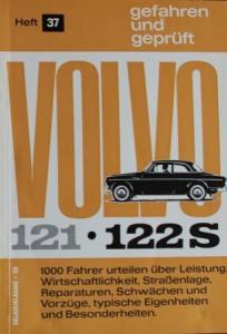 """Hansen """"Volvo 121-122 S - gefahren und geprüft"""" Fahrzeug-Technik 1964"""
