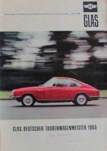 """""""Glas Nachrichten"""" Firmen-Magazin 1965"""