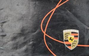 Porsche Modellprogramm 1956 Automobilprospekt