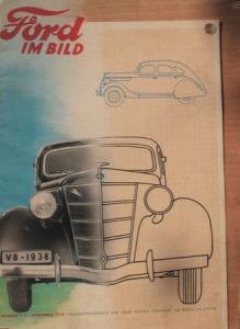 """""""Ford im Bild"""" Firmen-Magazin 1938"""