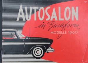 """Autosalon in Buchform"" 1960 Automobil-Katalog"