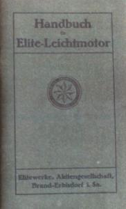 Elite Leichtmotor 1924 Betriebsanleitung