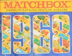 """Matchbox """"Sammler Katalog Deutsche Ausgabe"""" Spielzeugprospekt 1968"""