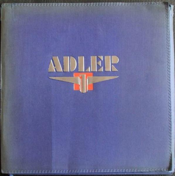 Adler-VerkaufsmAdler Verkaufsmappe 1935 mit Verkaufsprospekt Trumpf Junior 0