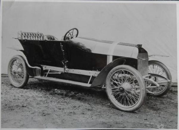 Steyr Prinz-Heinrich Wagen 1908 Werksphoto 0