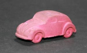 Läufer Volkswagen Käfer 1960 Werbemodell Radiergummi