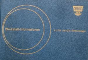 DKW Auto-Union Geländewagen 1959 Reparatur-Handbuch in Originalordner