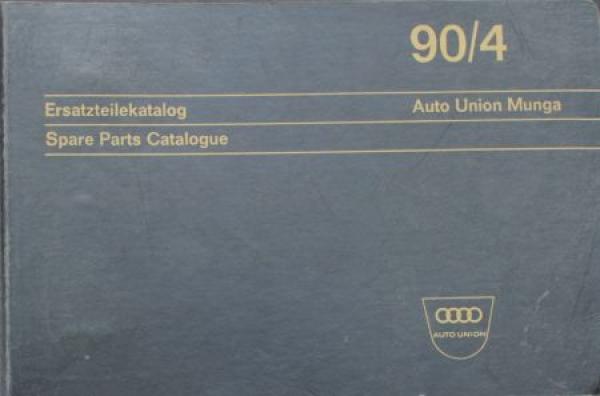 Auto-Union Munga 1967 Ersatzteil-Katalog in Originalordner 0
