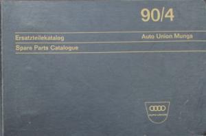 Auto-Union Munga 1967 Ersatzteil-Katalog in Originalordner