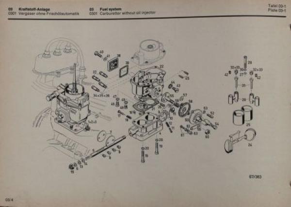 Auto-Union Munga 1967 Ersatzteil-Katalog in Originalordner 2