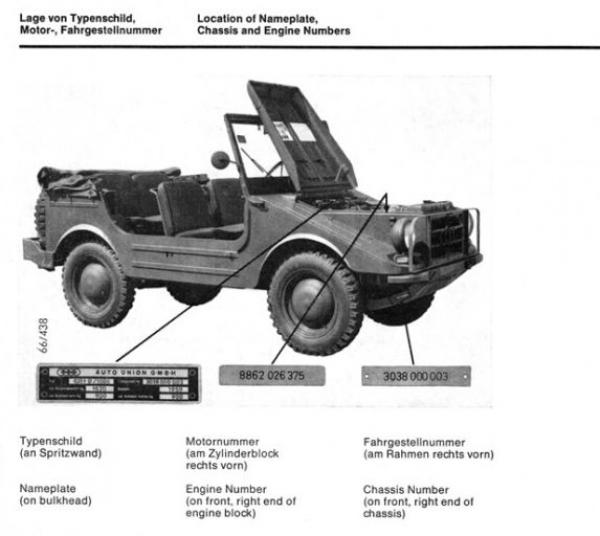 Auto-Union Munga 1967 Ersatzteil-Katalog in Originalordner 3