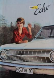 """""""Opel Echo"""" Firmen-Magazin 1963"""