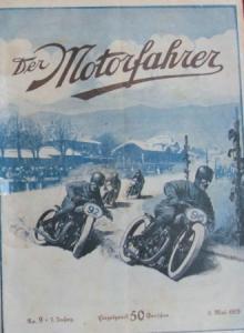 """""""Der Motorfahrer"""" Motorrad-Zeitschrift 1929"""
