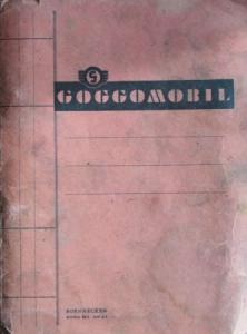 Glas Goggomobil T 250 - T 300 Ersatzteil-Katalog 1957