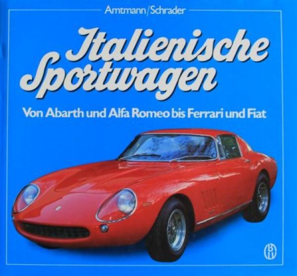 """Amtmann """"Italienische Sportwagen"""" Fahrzeughistorie 1987 0"""