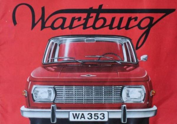 Wartburg 353 Modellprogramm 1967 Automobilprospekt 0