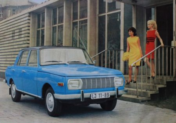 Wartburg 353 Modellprogramm 1967 Automobilprospekt 1