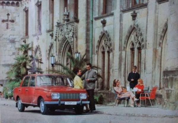 Wartburg 353 Modellprogramm 1967 Automobilprospekt 2