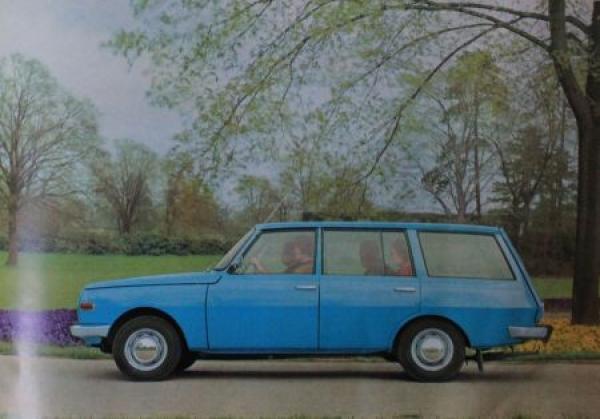 Wartburg 353 Modellprogramm 1967 Automobilprospekt 3