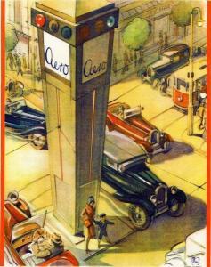 Aero 10 Modellprogramm 1932 Automobilprospekt