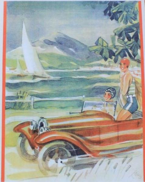 Aero 10 Modellprogramm 1932 Automobilprospekt 1