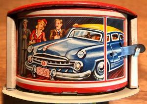 Georg Fischer Garage und Tankstelle 1950 Blechmodell