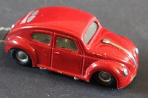 Dux Volkswagen Käfer 1949 Metallmodell mit Federwerk