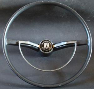 Volkswagen Käfer Lenkrad mit Chromhupring 1965