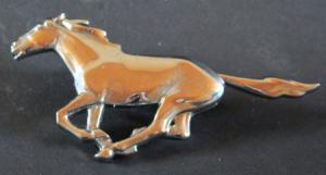 Ford Mustang Kühleremblem 1970 Metall verchromt