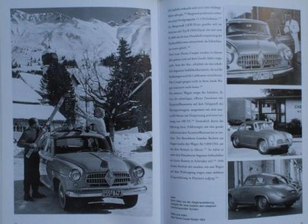 """Kurze """"Carl Borgward Automobilwerke"""" Borgward-Historie 2001 3"""