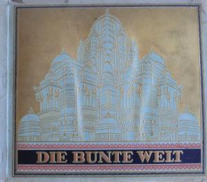 """Jasmatzi Zigaretten """"Die bunte Welt"""" Sammelbilder-Album 1935"""