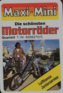 """Altenburger """"Motorräder"""" Kartenspiel 1974"""