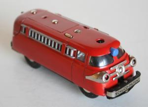 Schuco Varianto Elektro Feuerwehr 1955 Metallmodell
