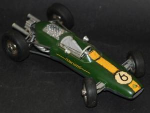 Schuco Lotus Formel I 1965 Metallmodell mit Federwerk