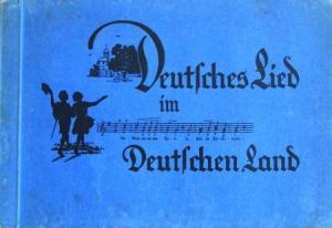"""Reiners Zigaretten """"Deutsches Lied"""" Sammelbilder-Album 1933"""