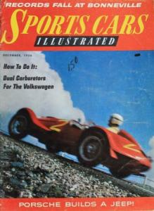"""Sports Cars illustrated"" Motorsport-Zeitschrift 1956"